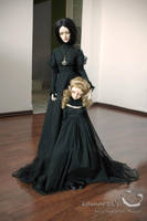 Mother Witch and her orphan by kamarza