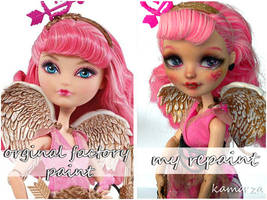 EAH C.A. Cupid repaint before and after by kamarza