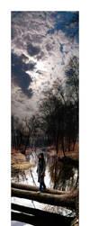 Between two skies by Mentos18