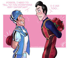 Valentine's In Lazytown by TealLeadership
