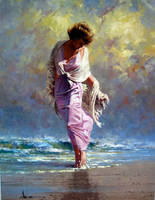 Soft Sway 30 x 40 By Robert Hagan by robert-hagan