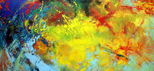 'Flash of Colour' Oil on Canvas By Robert Hagan by robert-hagan
