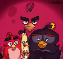 Friends by AngryBirdsArtist