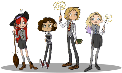 Hogwarts Babies by THE-UNIVERSE-IS-OVER
