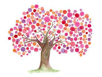 Grandmother Tree by Angela-Vandenbogaard