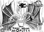 Islamic Terrorism: The 3 Headed Monster by MrMstudio
