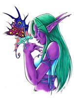 Sprite Darter Love - Color by LoreliAoD