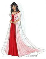 Lore's Wedding Dress by LoreliAoD