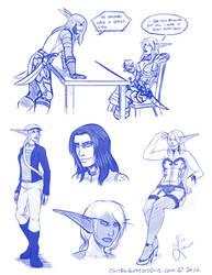 Sketches 8-04 by LoreliAoD