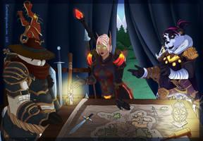 War Meeting by LoreliAoD