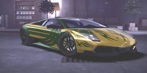 Lamborghini Murcielago LP670-4 SV [ 1 ] by Serapia2199
