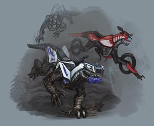 Unusual Wolfpack by Hydrothrax