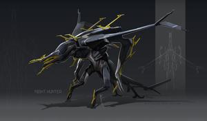 NightHunterMech by Hydrothrax
