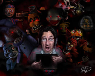Markiplier FNAF 2 by ShiftyStorm