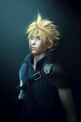 Cloud strife by Wen-JR