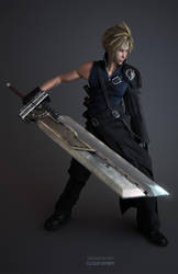 Cloud strife_full by Wen-JR