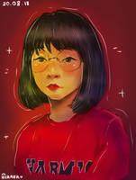 (orig.)  First Digital Portrait~ =w= by Ifiraen-Tasu-u