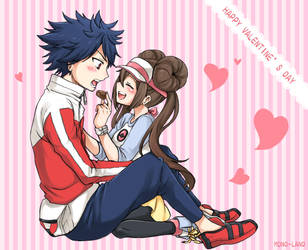 PokeBW2 - Valentine 1 by MONO-Land