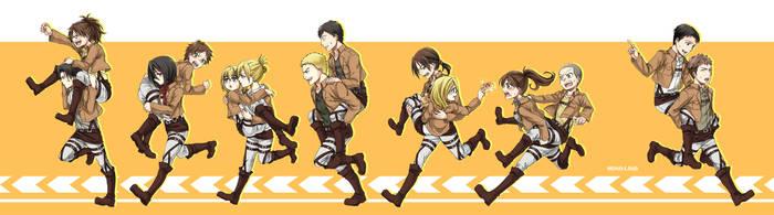 SNK - RUN! RUN! RUN! by MONO-Land