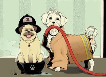 Firefighters! by Sishuu