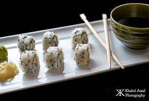 Sushi by Delahkor