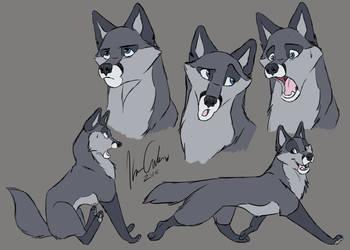 Character Study: Casual Kert by Imaje-Train