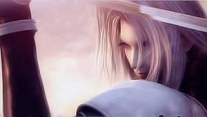 Sephiroth PsP wallpaper by Alfox086