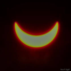 Partial solar eclipse by gwizdek82
