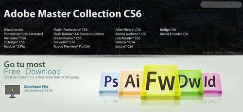 Adobe Master Collection CS6 by DragonXP