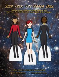 Star Trek Paper Doll preview by juliematthews