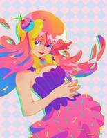 hello my little cupcake by pyawakit