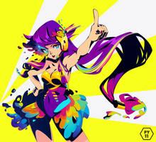 chromatic chaos by pyawakit