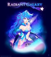 Radiant Galaxy by pyawakit