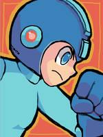 Megaman by Mahiruno