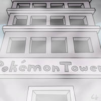 Pokemon Tower by dusknoirofficial
