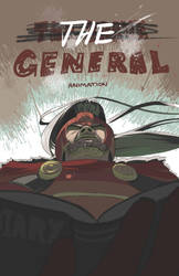 The Brave General Animation Poster by Daboya