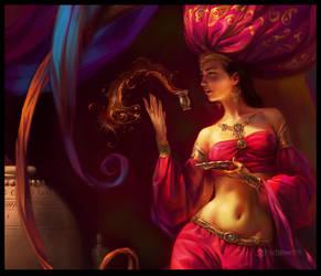 Fairy of Oriental Star CloseUP by EldarZakirov