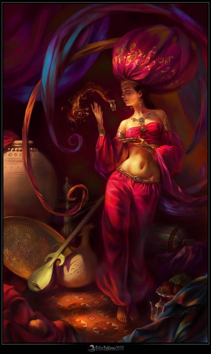 Fairy of Oriental Star, final by EldarZakirov
