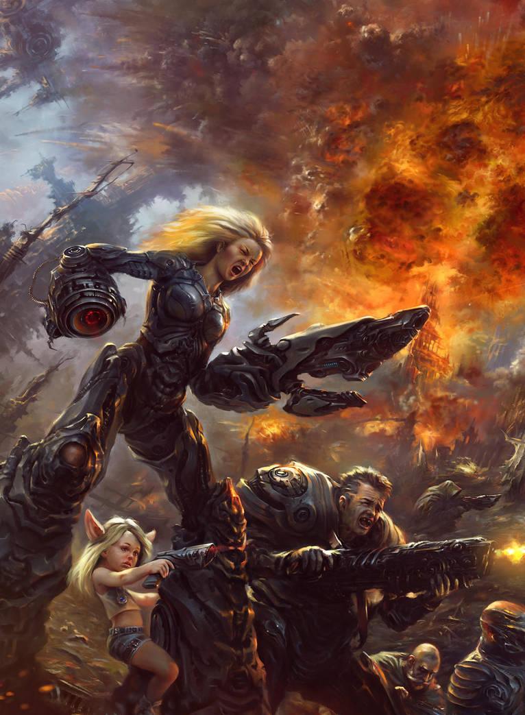 Beyond the Wall by EldarZakirov