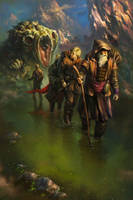 The Exodus. Cover Art by EldarZakirov