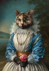 The portrait of Samantha by EldarZakirov