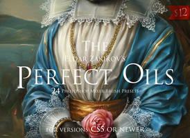 The Perfect Oils, Mixer Brush Presets by EldarZakirov