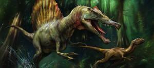 Spinosaurus by EldarZakirov