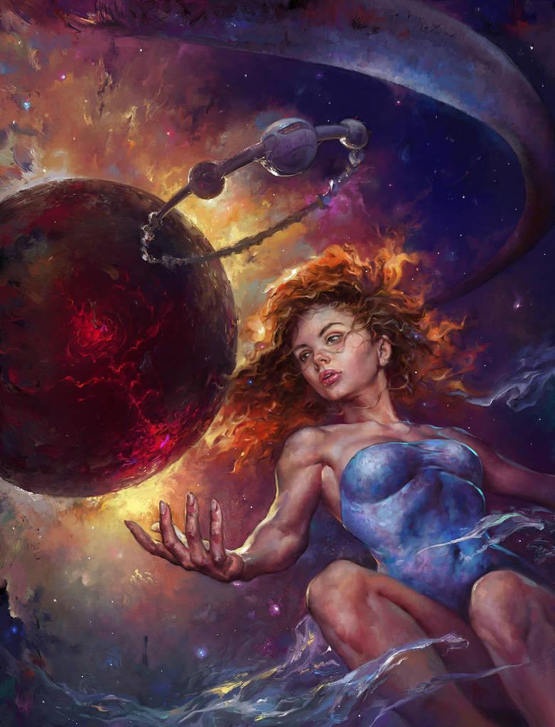 Empress of Starlight by EldarZakirov