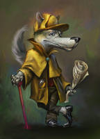 Magic Forest game. Wolf, the Charade cracker. by EldarZakirov