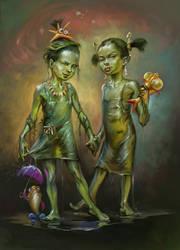 Swamp and Sludge, the Sisters by EldarZakirov