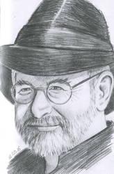 Sir Terry Pratchett by UlyanaShkuratova