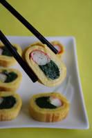 Omelette Sushi by neongeisha