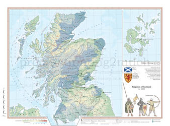 Kingdom of Scotland in 1286 by procrastinating2much