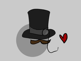 My Heart Is A Top Hat by channiebobannie
